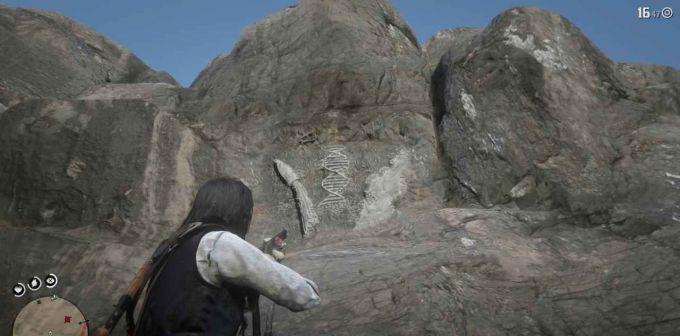 Как и где найти все наскальные изображения в Red Dead Redemption 2