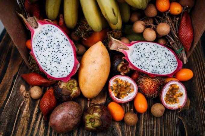 В африке растет много сочных фруктов