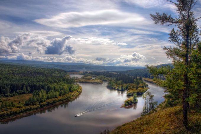 Лена - крупнейшая речная система Сибири