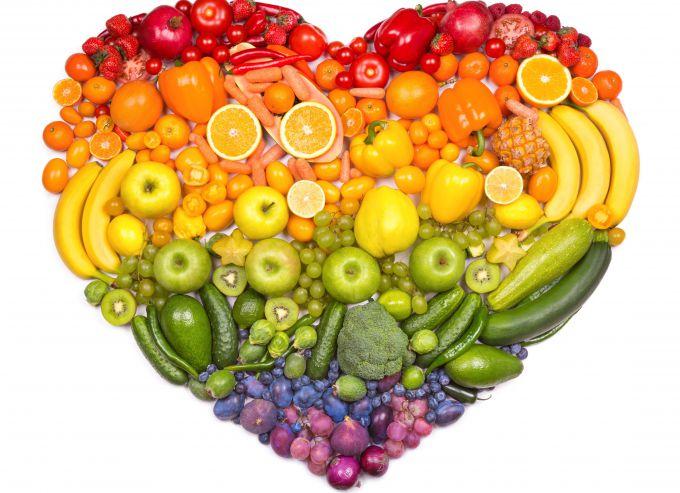 фрукты и овощи - источник витаминов и минералов