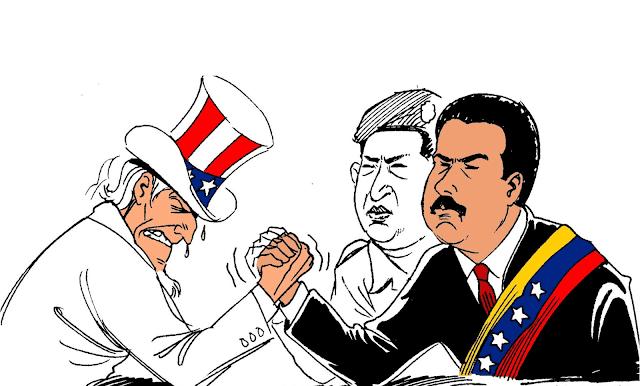 США вмешиваются в политику Венесуэлы