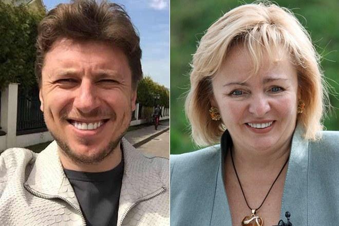Людмила Путина и Артур Очеретный