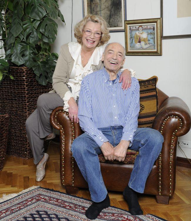 Ольга Остроумова с любимым супругом