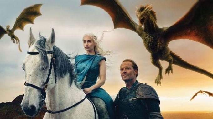 """Как звали драконов из """"Игры престолов"""""""