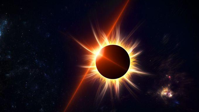 Даты солнечных затмений