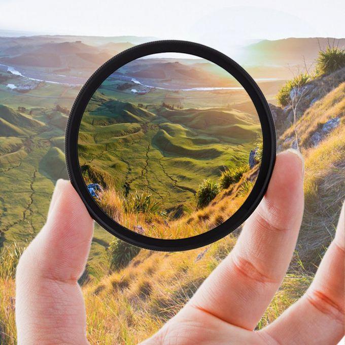 CPL-фильтр с круговой поляризацией: уроки фотографии