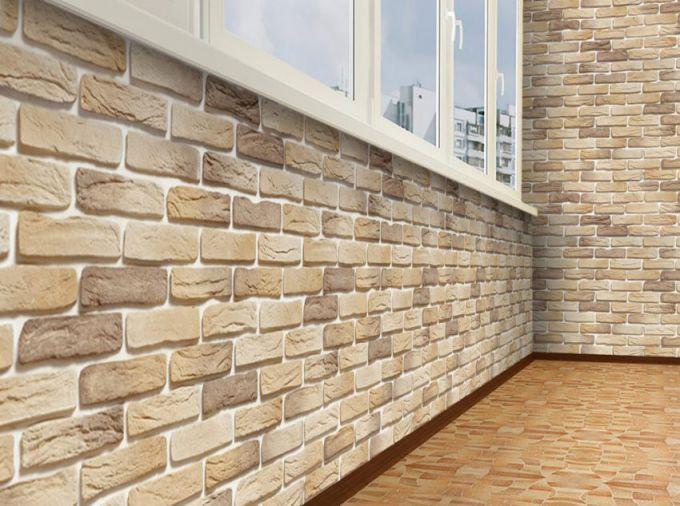Стеновая панель под кирпич для внутренней отделки