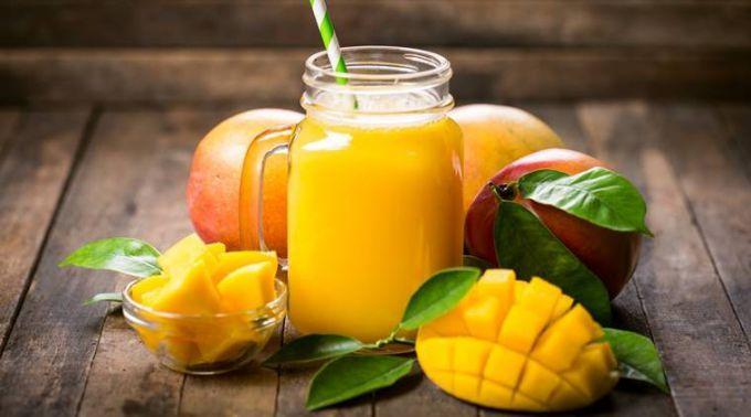 Манго полезный низкокалорийный фрукт