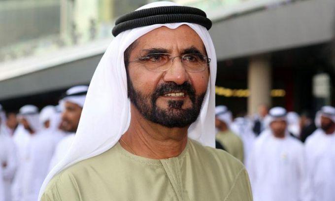 Шейх Дубая и его жены: фото