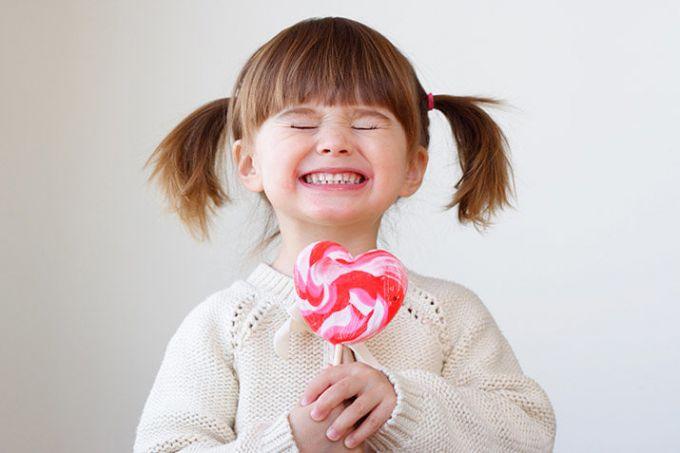 День святого Валентина можно праздновать с детьми