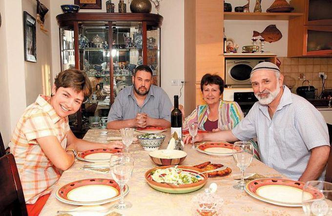 Дина Рубина: фото с мужем и детьми