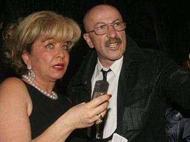 Александр Розенбаум с женой