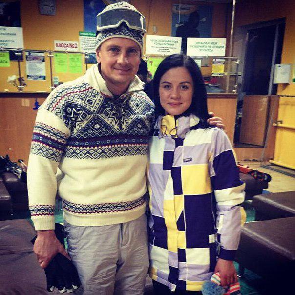 Жена Максима Ярицы: фото