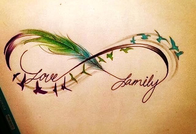Татуировка бесконечность
