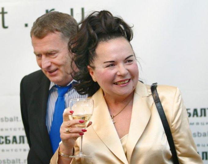 Жена Жириновского: фото