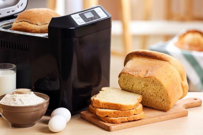 Домашний хлеб из хлебопечи