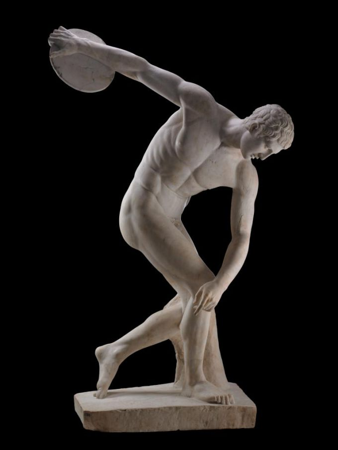 """""""Дискобол"""": скульптура Мирона"""