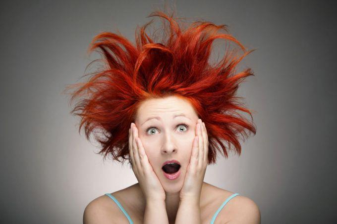 """""""Волосы дыбом"""" означают крайнюю степень испуга или удивления"""