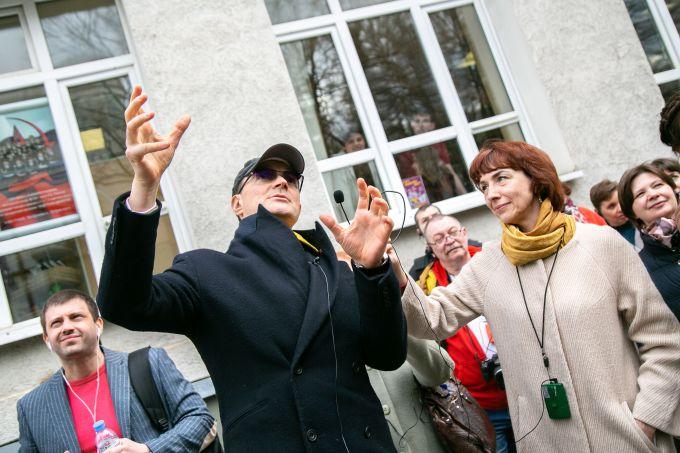 «Шагая по Москве с Егором Бероевым» — новый совместный проект Музея Москвы и бренда мороженого «Филевское»