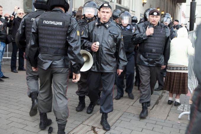 Россия по многим показателям может считаться полицейским государством