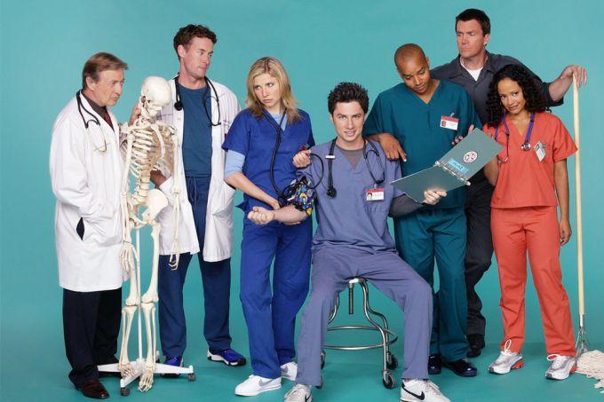 «Клиника»: актеры комедийного сериала