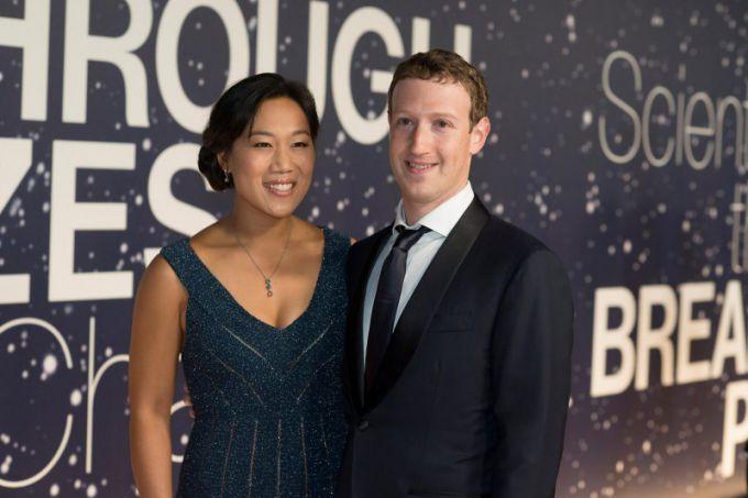 Жена Марка Цукерберга: фото