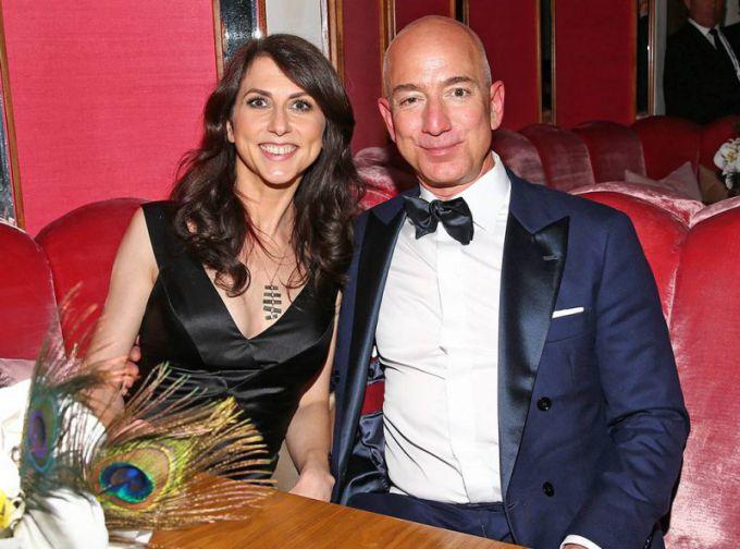 Жена Джеффа Безоса: фото