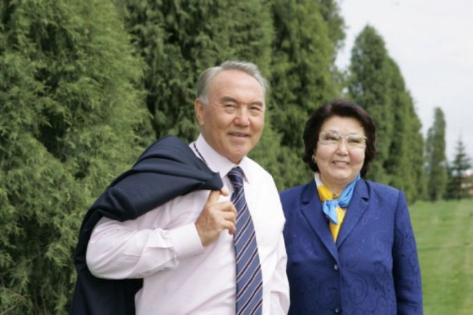 Жена Нурсултана Назарбаева: фото