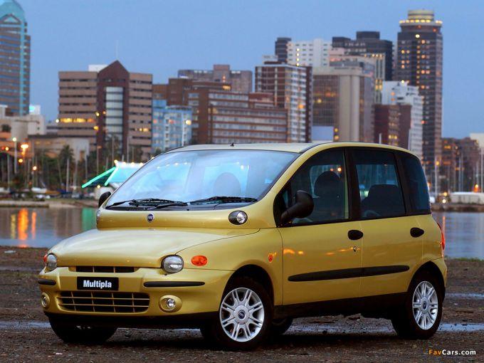 Fiat Multipla - один из самых креативных автомобилей мира