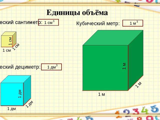 Кубические метры используются во многих отраслях жизнедеятельности