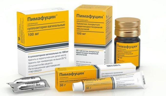 «Натамицин»: инструкция по применению