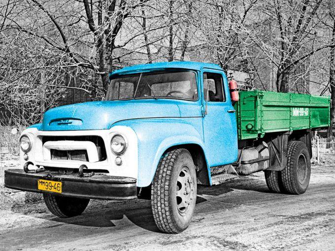 ЗИЛ 130 - легенда советского автопрома