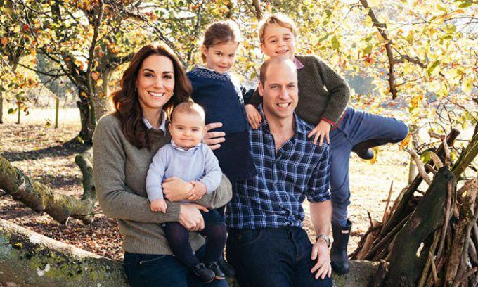 Дети Уильяма и Кейт: фото