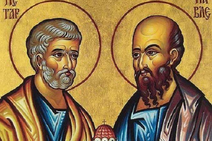 Когда  Праздник Святых первоверховных апостолов Петра и Павла в 2019 году