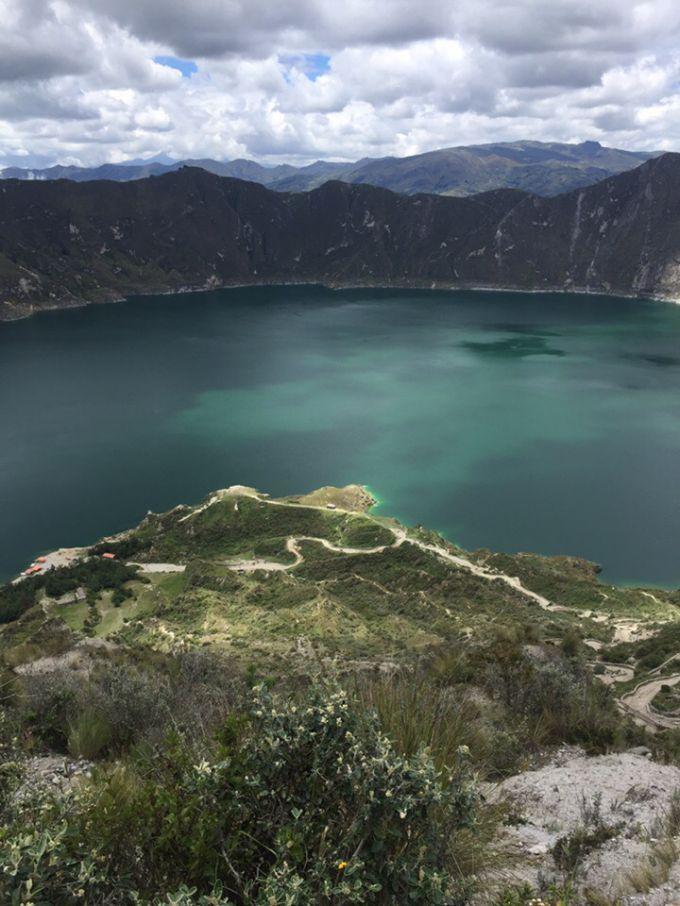 Лагуна Килотоа, Эквадор