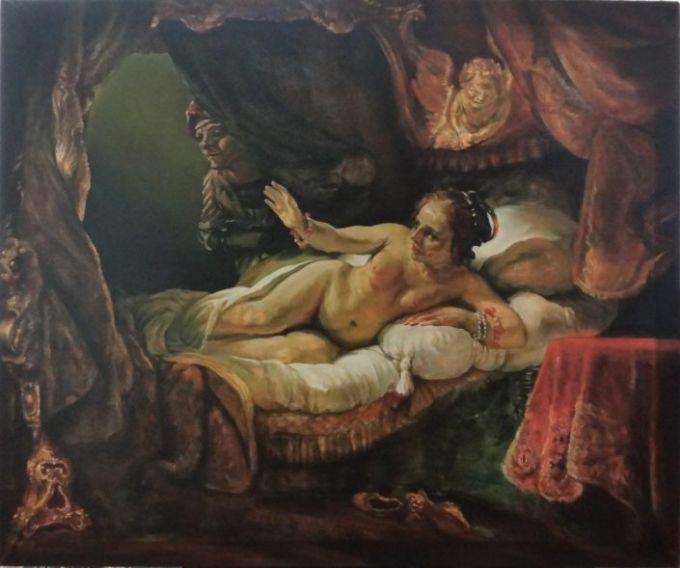 """""""Даная"""" Рембрандта: история картины и интересные факты"""