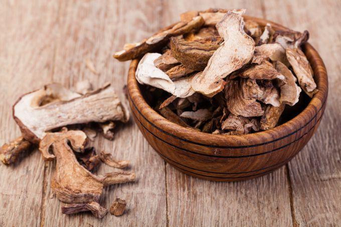 Что делать с сушеными грибами