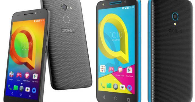 Бюджетные смартфоны Alcatel A3 и U5