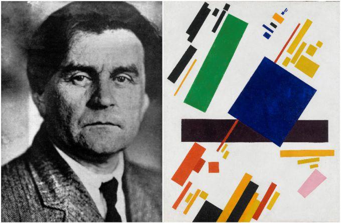 Казимир Малевич - самый знаменитый отечественный авангардист