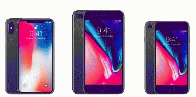 Apple iPhone X или iPhone 8 и 8 Plus - сложный выбор!