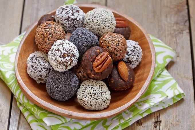 Как приготовить вкусные и полезные веганские конфеты