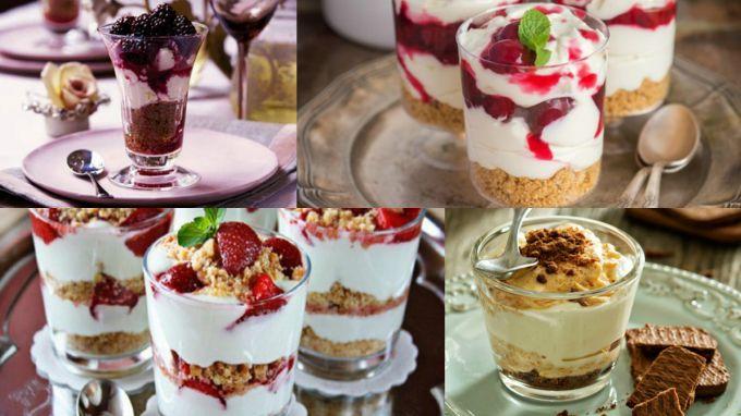 Десерты без выпечки: 5 лучших рецептов