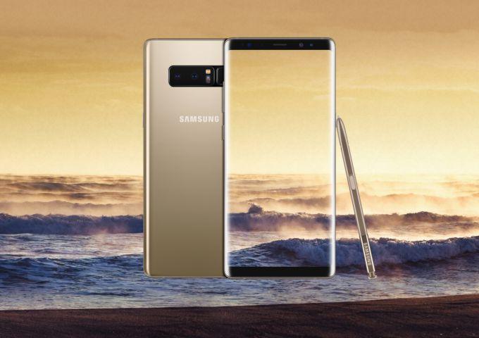 Преимущества и недостатки Samsung Galaxy Note 8