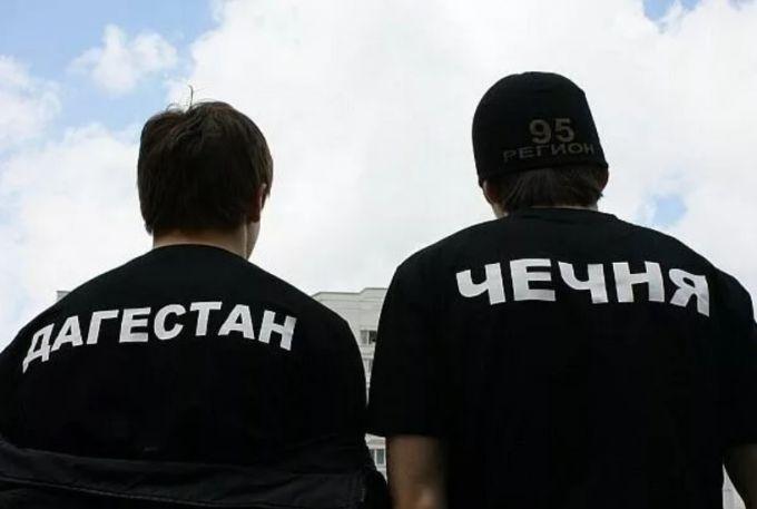 Дагестанец и чеченец