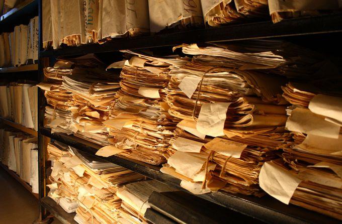 Архивохранилище. Фото с сайта culural.tu
