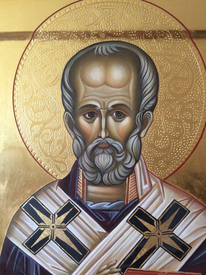 Стояние Зои Карнауховой с иконой Николая Чудотворца