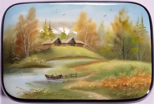 Народные промыслы: Федоскинская миниатюра