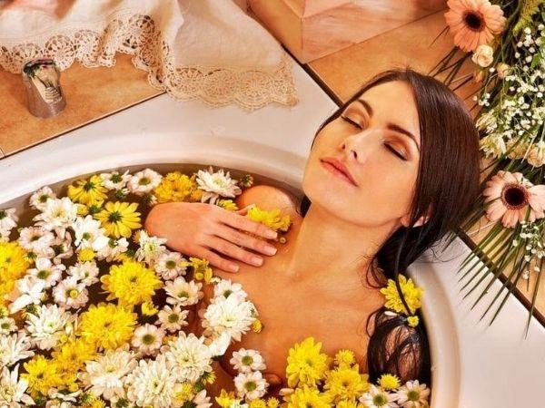 Домашние косметические процедуры — ванны и маски