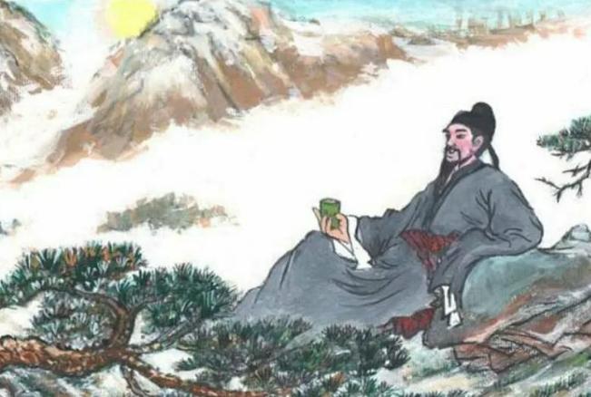 Китайский поэт Ли По