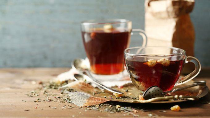 Чай из веточек черной смородины